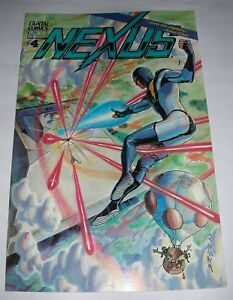 Consciencieux Nexus N° 4 - Capital Comics 1983 ( Comics Usa ) AgréAble à GoûTer