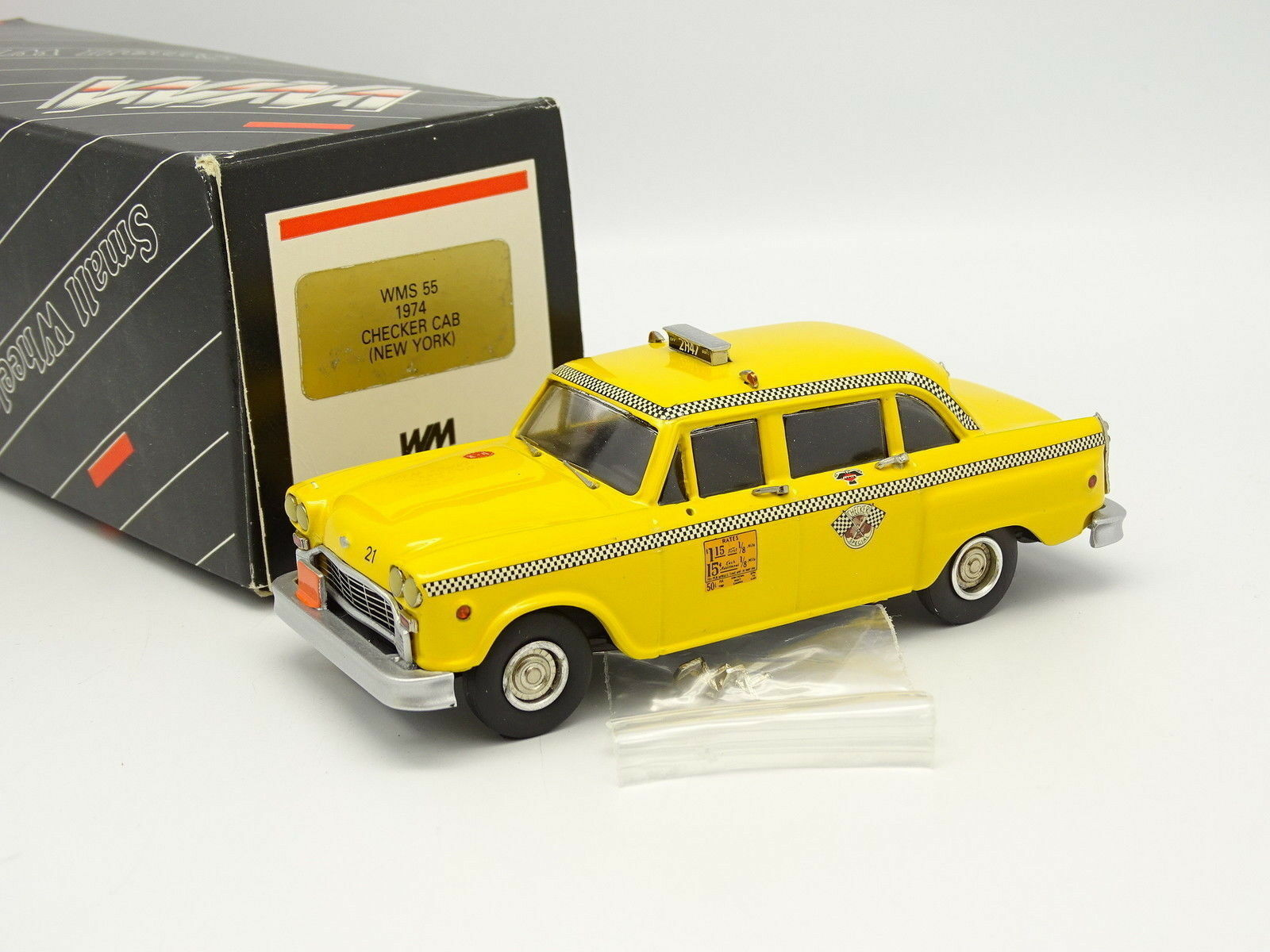 Oeste Models 1 43 - Checker Cab Taxi New York 1974