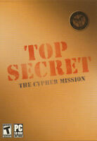 Top Secret The Cypher Mission - Adventure Mystery Pc Game - Us Seller -
