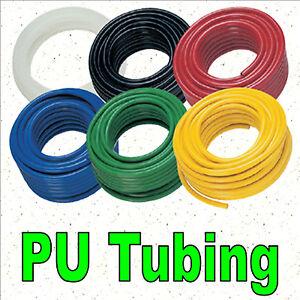 3mm/4mm/5mm/6mm PU Polyurethane Flexible Air Tubing Pneumatic Pipe Tube Hose 1m
