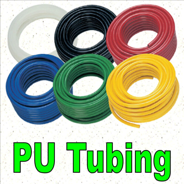 PU Polyurethane Flexible Air Tubing Pneumatic Pipe Tube Hose 3mm 4mm 6mm 8mm EU