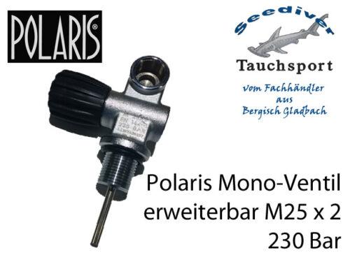 M 25 x 2 rechts oder links Polaris Monoventil erweiterbar