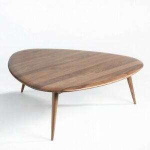 La Redoute Theoleine Large Retro Style Coffee Table In Solid