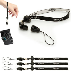 3X-Hand-Wrist-Lanyard-Strap-Adjustable-Slider-Lock-for-Compact-Digital-Cameras
