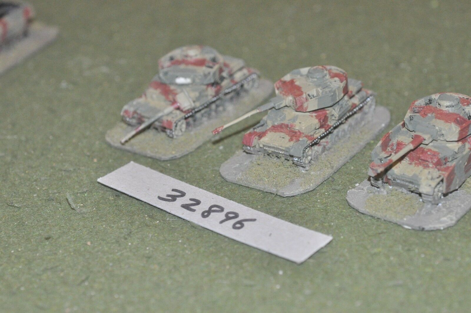 15mm WW2   german - 3 tanks - vehicles (32896)