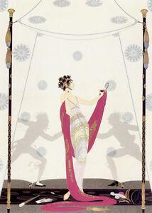 Le Mystere Des Pierreries 22x30 Art Deco Print by Erte
