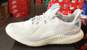 Adidas Alphabounce 1 Parley M Men's Running shoes White CQ0784  Sz8-12 K