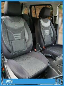 Maß Sitzbezüge für Jeep Wrangler JK Fahrer & Beifahrer 2007 - 2018 909