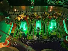 Criaturas De La Laguna Negra máquina de pinball Verde carriles Mod