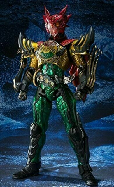 FROM JAPAN S.I.C Kamen Rider OOO Super Tatoba Combo Action Figure Bandai