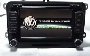 volkswagen vw passat rns 510 navigation system plus