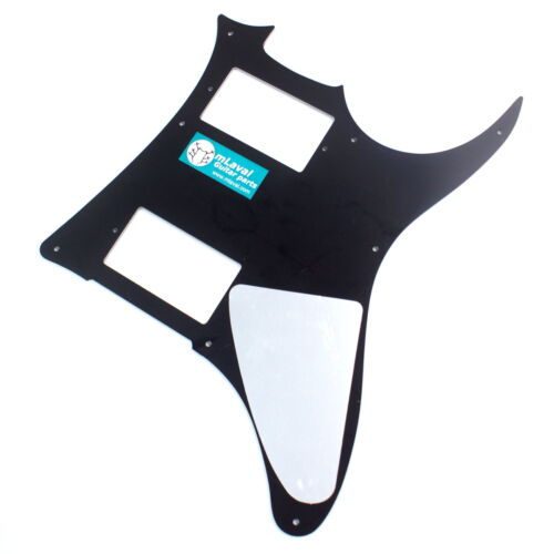 Left-Handed Quality Guitar PickGuard For Ibanez GRX20 Z 3ply Black