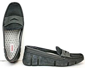 9acf4efc1c0d Swims Womens Water Shoes size 7 Penny Loafer Black Rubber WF24 FW310 ...