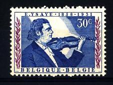 BELGIUM - BELGIO - 1958 - Centenario della nascita di Eugenio Ysaye, violinista