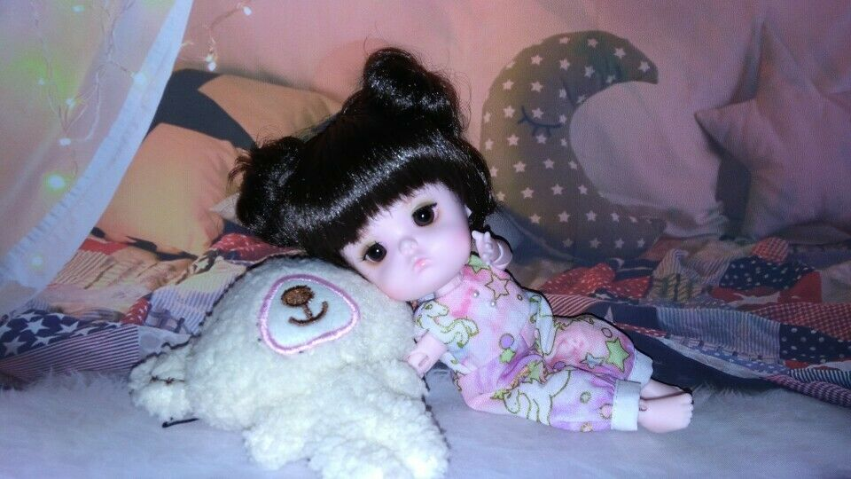 Puppe Cute Tiny Recast -1 8 Mong Bjd Doll With Eyes Have Two Style Body