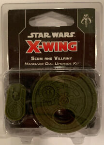 DE//EN//M Edition Scum and Villainy Maneuver Dial Upgrade Kit Star Wars X-Wing 2