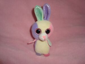 Image is loading TY-Basket-Beanies-Bunny-Bloom-Plush-5-034 b224a5d3a354