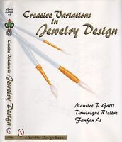 Creative Variations In Jewelry Design With 100 Color Drawings