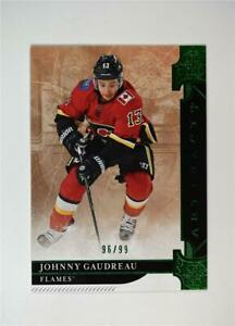 2019-20-UD-Artifacts-Emerald-Stars-115-Johnny-Gaudreau-99