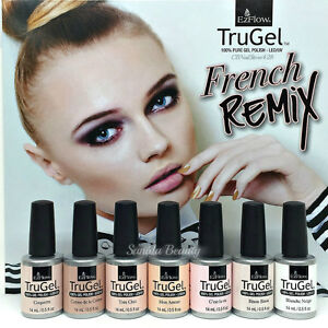 EZFlow-TruGel-Gel-Polish-LED-UV-FRENCH-REMIX-0-5oz-14mL-Pick-Any-Color