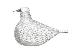 iittala-Birds-by-Toikka-mediator-dove-Friedenstaube-Glas-Objekt-Finnland-NEU