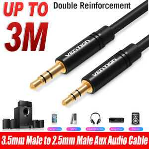 Vention-3-5mm-Male-to-2-5mm-Male-AUX-Audio-Cable-Wire-for-Car-Smartphone-Speaker