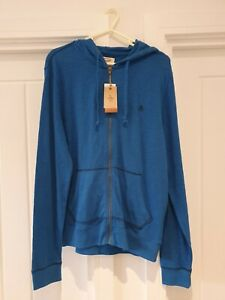 Original-Penguin-Snorkel-Blue-Full-Zip-Hoodie-Size-Medium-New-with-Tags
