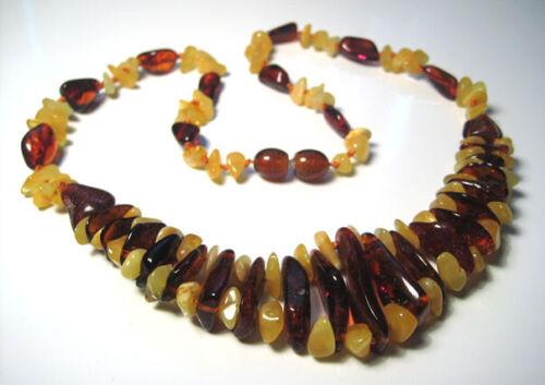 Fine Genuine Baltic Amber Colliers