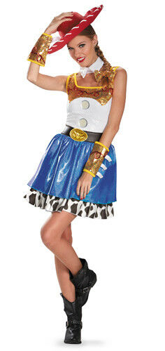 Womens Toy Story Jessie Glam Halloween Costume