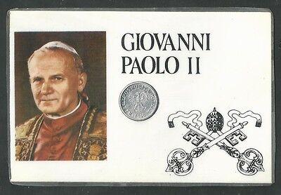 Abundante Estampa Del Papa Juan Pablo Ii Andachtsbild Santino Holy Card Santini
