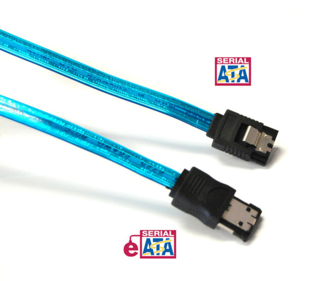 Bytecc SATA-118D Serial ATA-150//300 18-Inch Cable L Shape Plug w//Locking Latch