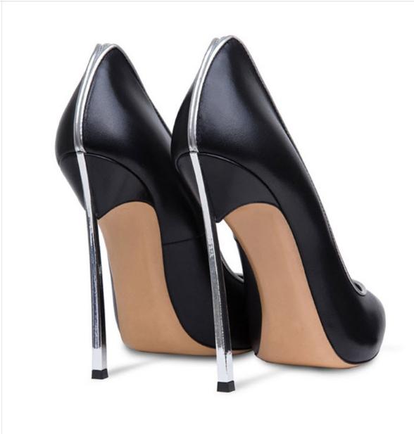 Para mujeres Dama Europea De Trabajo Puntera Puntiaguda bomba zapatos Stilettos Tacón Alto zapatos bomba  De Trabajo Sexy 95fbcc