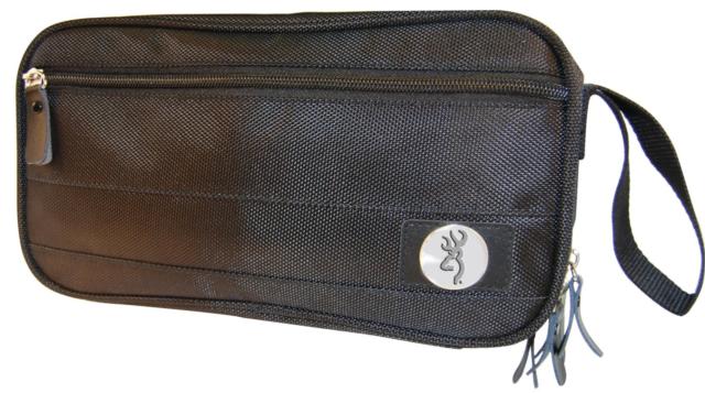 fe778dfbee2 Browning Travel Shaving Toiletry Bag Men s Nylon Black   eBay