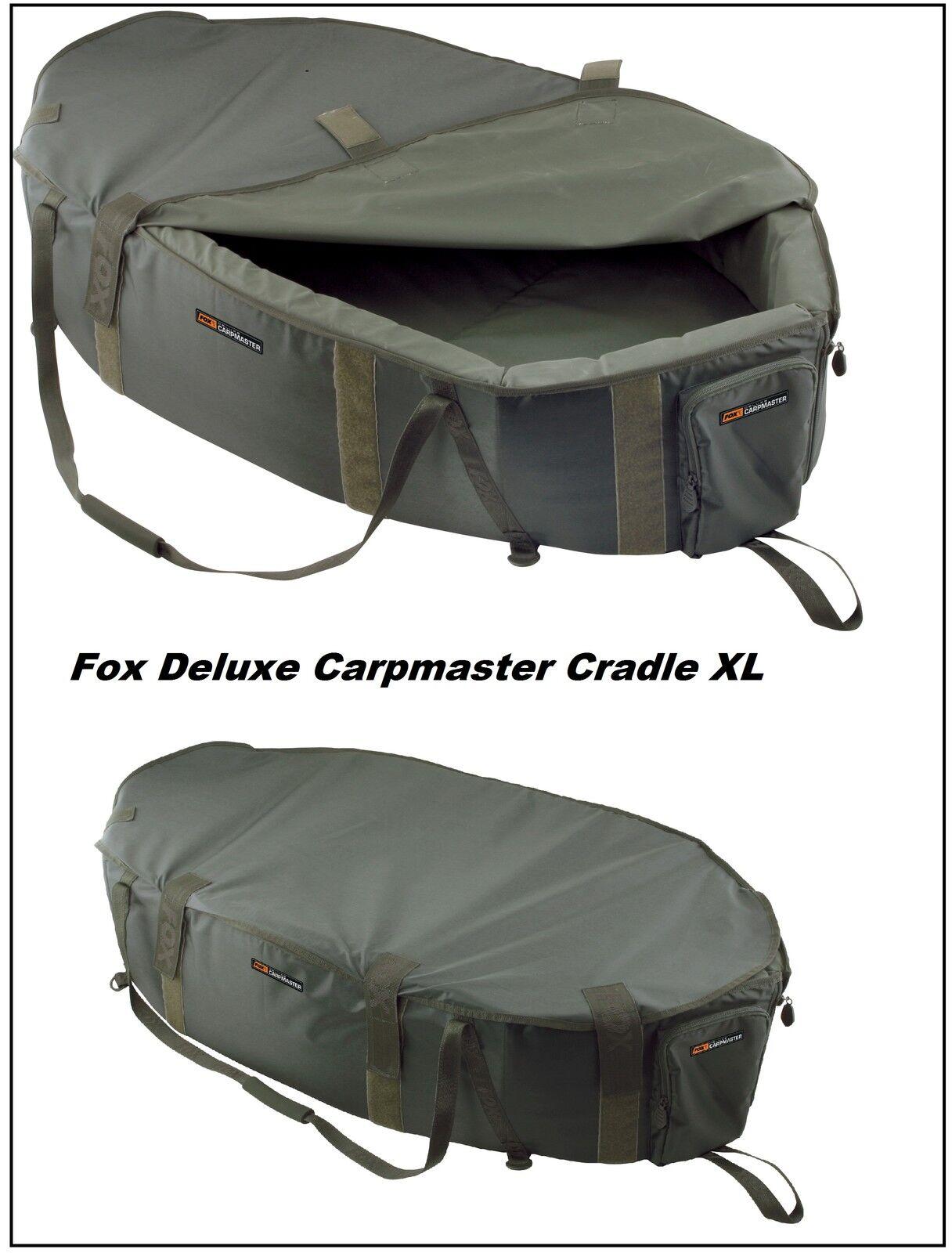 Fox Deluxe Carpmaster Cradle XL Abhakmatte Unhooking Mat CCC029 CCC031