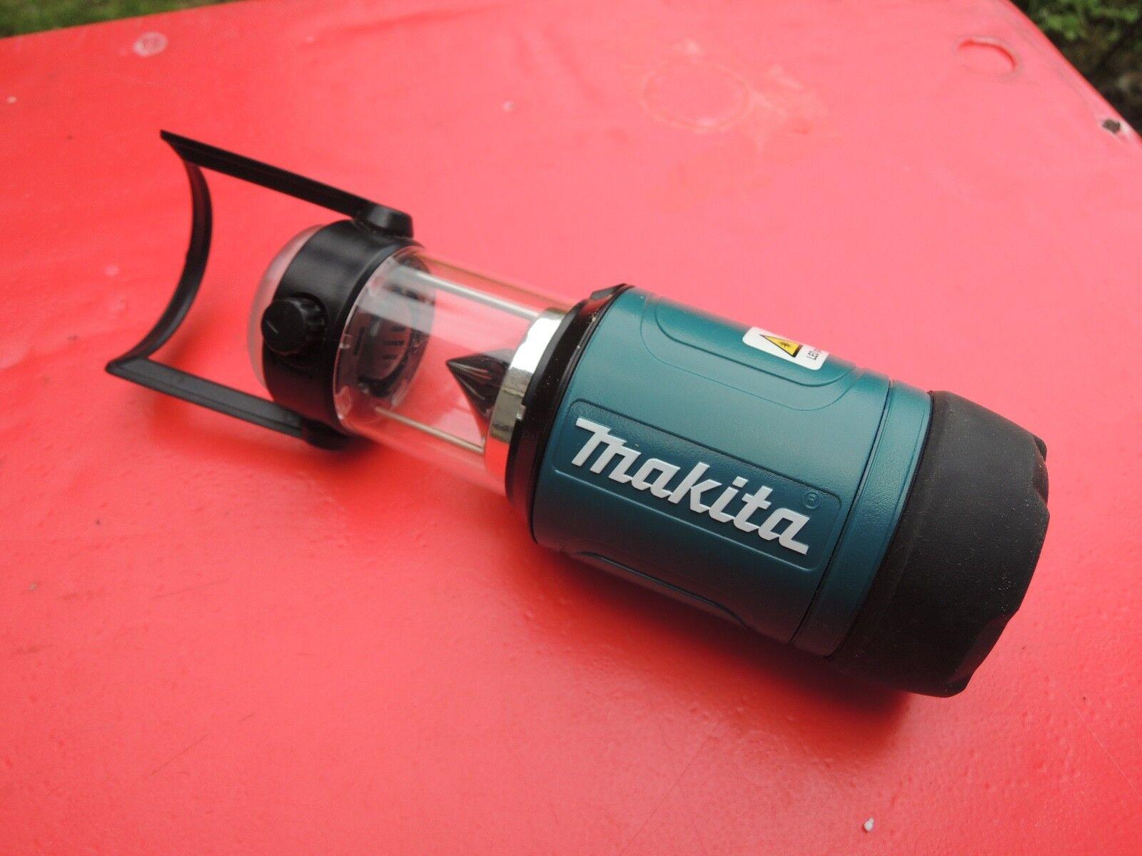 MAKITA LAMPE ML 102 ETANCHE TORCHE et LANTERNE batterie 10,8V Bricolage Camping