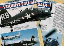 Q62 Clipping-Ritaglio 1993 Vought F4U - 5N Corsair
