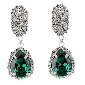 Image Is Loading Luxury Diamond Shine Rhinestone Emerald Green Christmas Gift