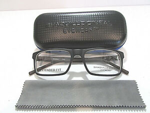 5332cfe1956 Shaquille O Neal Eyewear Shaq 108Z 219 Black Brown Extended Fit ...