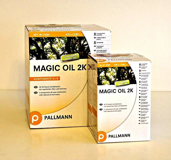 Pallmann Magic Oil 2K A/B natur 1L oder 2,75L Parkettöl, Magic Öl 2K natural