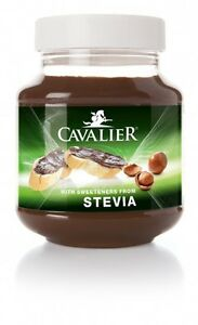 cavalier stevia haselnuss creme zuckerfrei ohne zucker 380. Black Bedroom Furniture Sets. Home Design Ideas