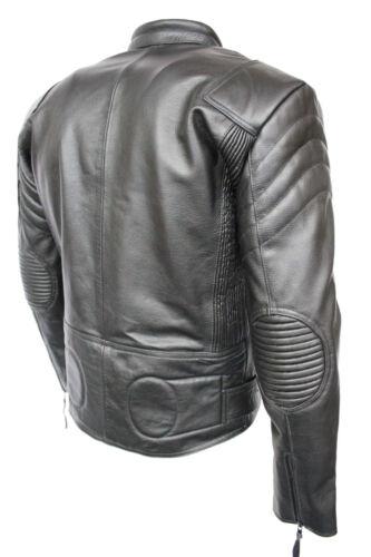 Style Hide Jacket 3 Armored Pelle imbottita Terminator Black Limo qIzRAw