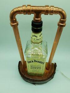 Rustico-Steampunk-hacen-Jack-Daniels-Tennessee-miel-Lampara-Luz-Cueva-de-hombre-Bar-1