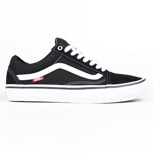 Details zu Vans Old Skool Pro Shoes BlackWhite School Skateboarding Skateboard Trainers