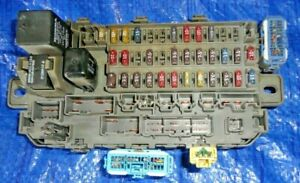 96-00 Honda Civic Under Dash Fuse Box Loaded Complete OEM 99-00 Civic SI |  eBayeBay