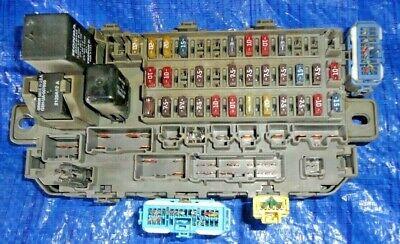 96-00 Honda Civic Under Dash Fuse Box Loaded Complete OEM 99-00 Civic SI |  eBayeBay