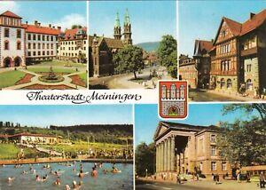 Theaterstadt-Meiningen-Ansichtskarte-ungelaufen