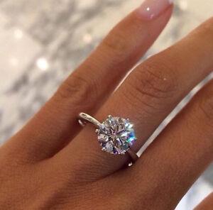 1.77 Carat Round Brilliant Cut Diamond Solitaire Gold Engagement ... 849fe8db7