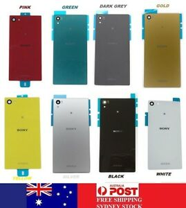on sale 53cf2 e553f Details about Sony Xperia Z5 Compact Mini Back Rear Glass Housing Battery  Cover Case