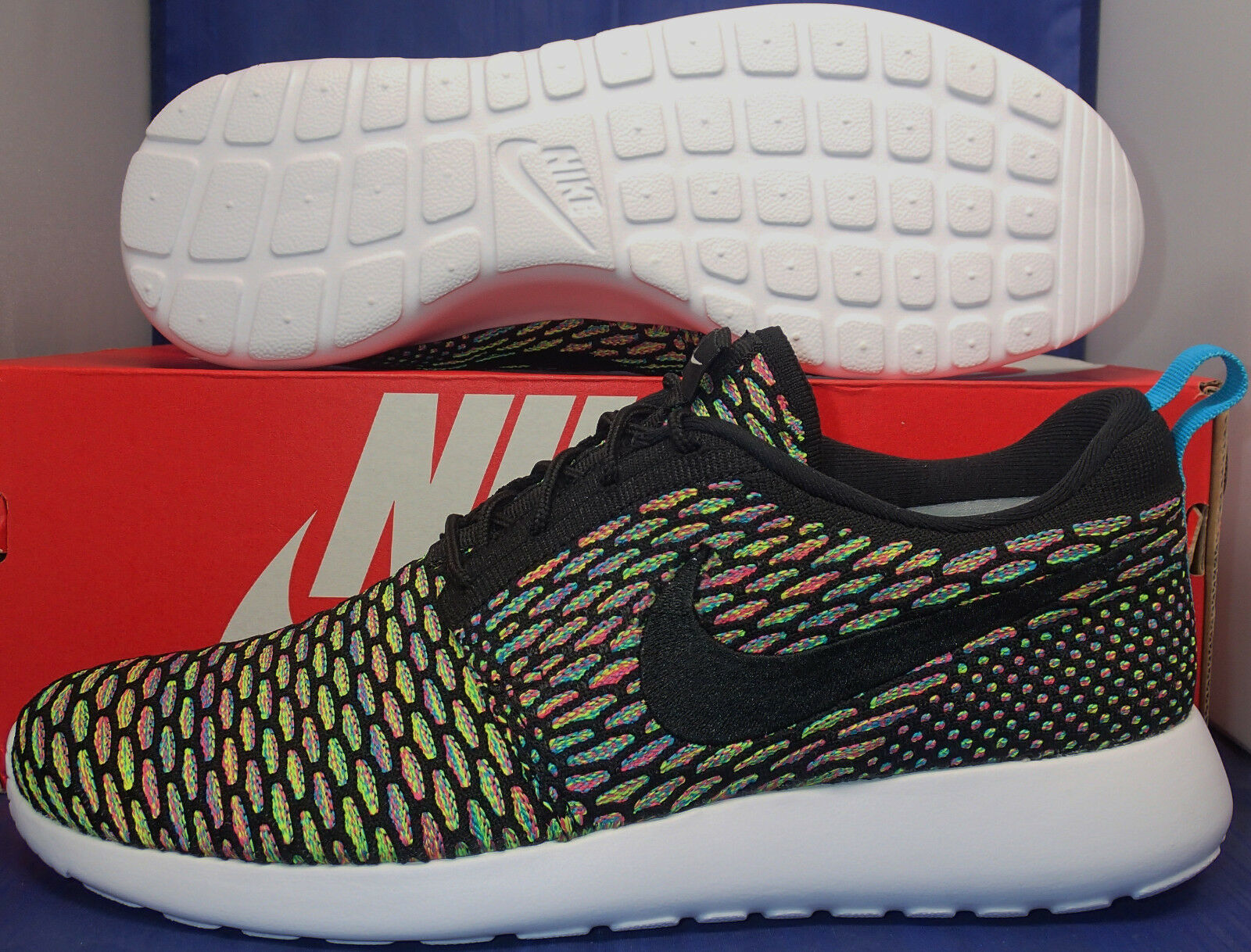 Nike Flyknit Roshe Run iD Multi-Color Price reduction