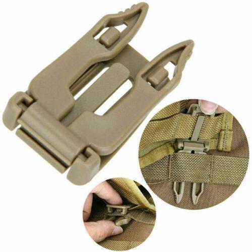 Backpack Molle Strap Bag Webbing Clamp Connecting Buckle I8V2 Clip O4K2